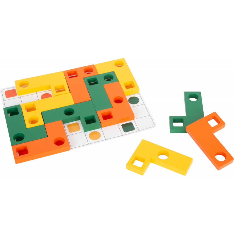 Small Foot gra Puzzle Tetris