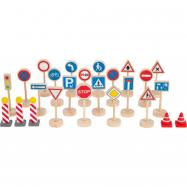 Small Foot Dopravné značky sada 25 dielov