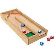 Dřevěná stolní hra Shuffleboard