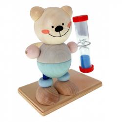 Hess Presýpacie hodiny medvedík pre meranie doby čistenie zubov