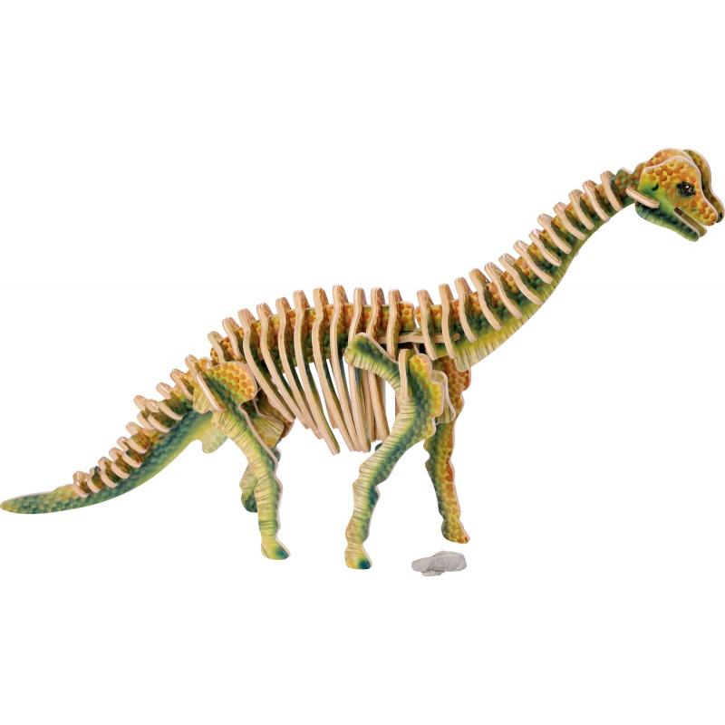 Dřevěné hračky - 3D puzzle Brachiosaurus