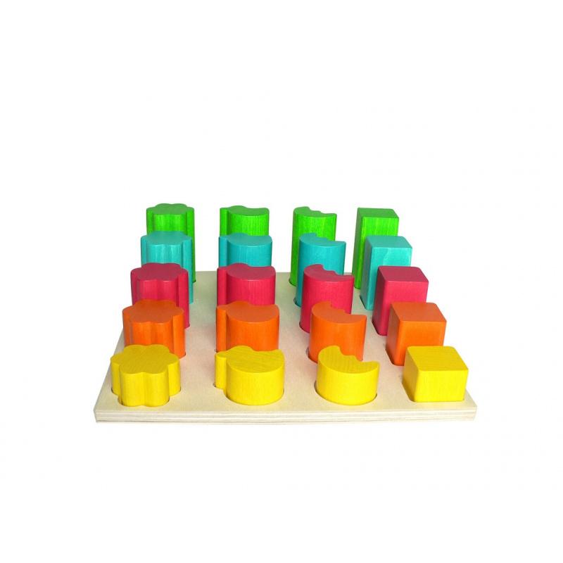 Hess Vkladacie tvary farebné
