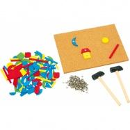 Kreativní zatloukací retro tabulka Hammer