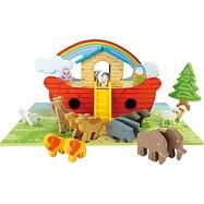 Hrací set drevená Noemova archa