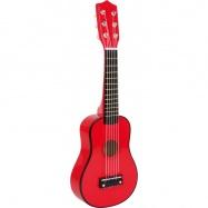 Gitara, czerwona