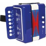 Dětský akordeon modrý