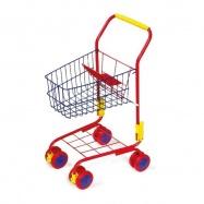 Nákupní vozík červený