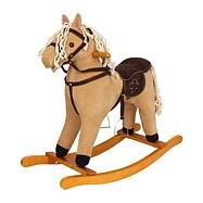 Koń na biegunach Textil