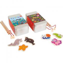 Rybárčenie 2 sady v darčekových boxoch