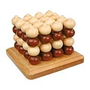 Drevené hry - drevené piškvorky 3D
