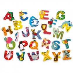 Drevená abeceda 1ks - písmenko K