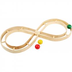 Drevené hračky - Drevená guličková elipsa
