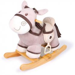 Dřevěný houpací koník Sheriff