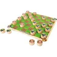 Dřevěná hra Dáma ovečka Shaun