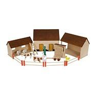 Drevené hračky - Farma Život na vidieku