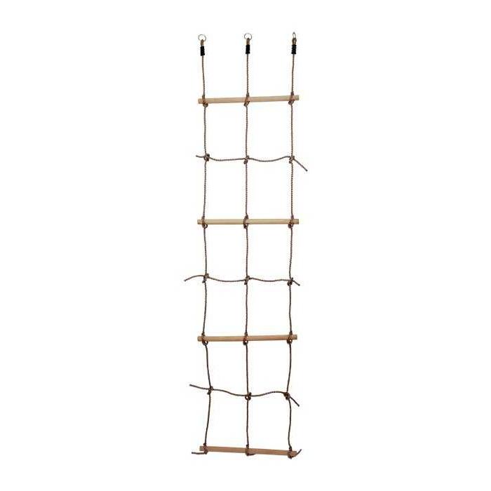 Dřevěné venkovní hračky - Provazový žebřík