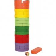 Drevená veža Wobbling farebná