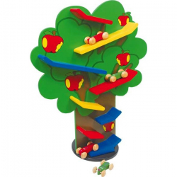 Legler Drewniane zabawki - Zjeżdżalnia Drzewo