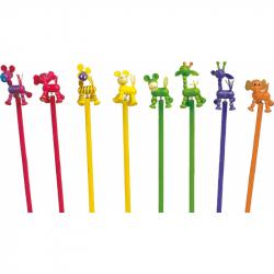 Small Foot Zestaw drewnianych ołówków z postaciami Africa 8szt