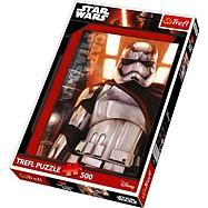 Papírové puzzle - Star Wars Kapitán Phasma