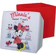 Box na hračky - Sedací úložný box  Minnie Mouse