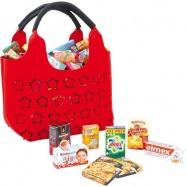 Plstěná nákupní taška