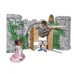 Rytiersky hrad Avalon z pevnej lepenky