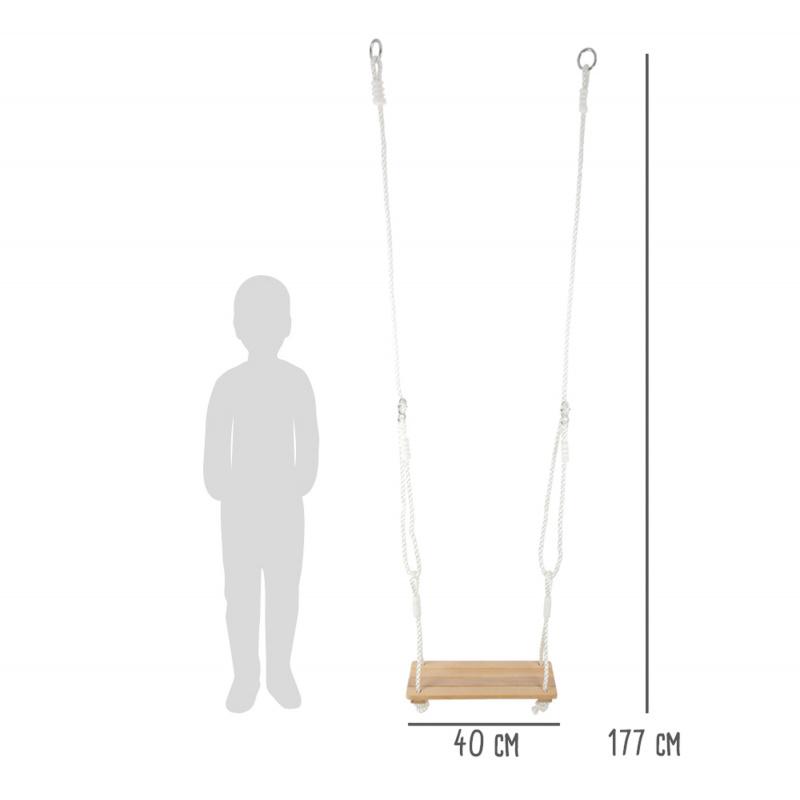 Small Foot Dřevěná houpačka 3 v 1