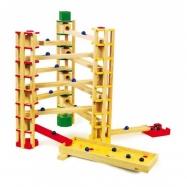 Drevené hračky - Guličková dráha 80 dielov