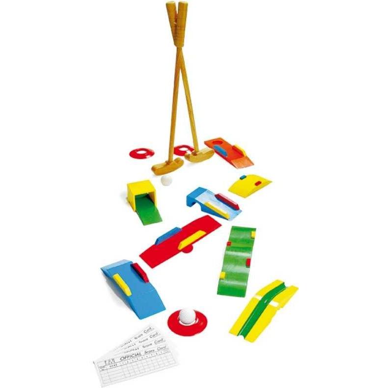 Dřevěné hry - Dřevěný minigolf