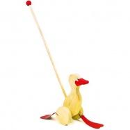 Dřevěné hračky - Tahací hračky - Jezdík kačenka