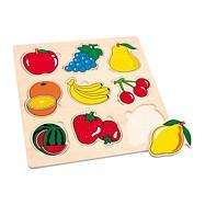 Drevené hračky - Vkladacie puzzle - Puzzle ovocie