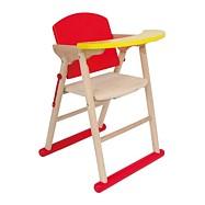 Dřevěná vysoká židle pro panenky Diana