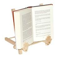 Dřevěný držák stojan na otevřenou knihu