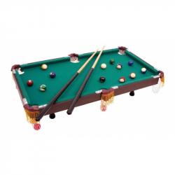 Drevené hry - Biliardový stôl s príslušenstvom