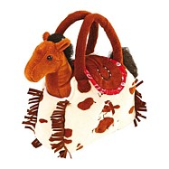 Legler - Pluszowy Pony w torbie