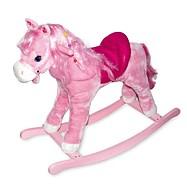 Dřevěný houpací růžový kůň Pinky - česací Pony