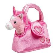 Dětská růžová kabelka - Jednorožec v kabelce Fina