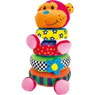 Plyšová hračka Skladacia opička