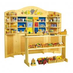 Dětský dřevěný obchod Vario