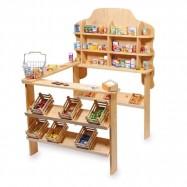 Dětský dřevěný obchod Nature