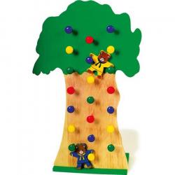 Drevené hračky - Padajúce medvede