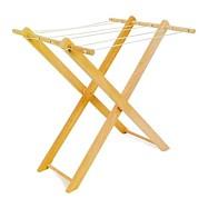 Dřevěné hračky pro holky - Dětský dřevěný sušák na prádlo