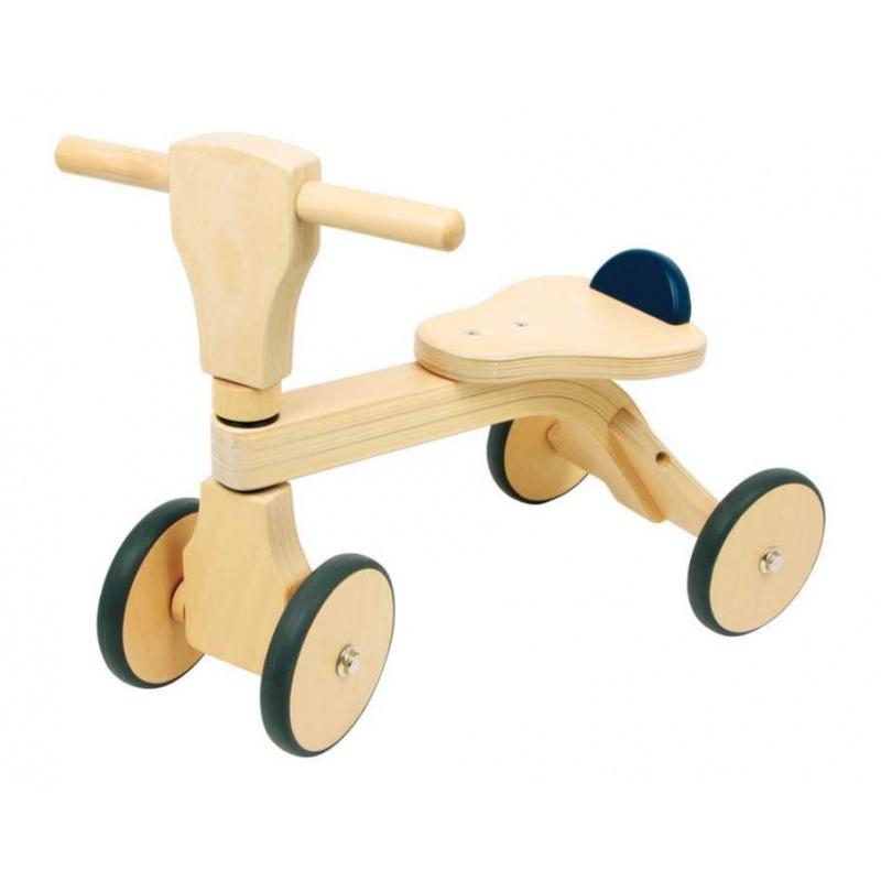 Dřevěné hračky - Odrážedlo - Čtyřkolka