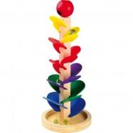Drevené hračky - Guličková dráha so zvukom