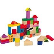 Drevené hračky - Drevené kocky Philip
