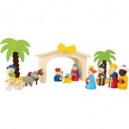 Dřevěné hračky -  Dětský dřevěný  betlém