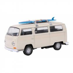 Model automobilu VW autobus T2 + Surfovaciu dosku