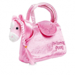 Dětská růžová kabelka - Koník v kabelce Paulina