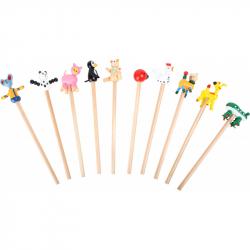 Ołówki drewniane Small Foot Zestaw 10 szt